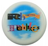 The Rebel Pebbles - 'Logo' Large Button Badge